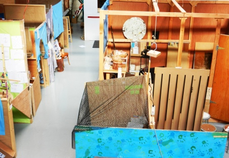 Space is always changing at Brightworks, a K-12 Tinkering School in San Francisco.