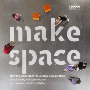 The Make Space book includes dozens of ideas for optimally developing space for making, designing, and tinkering.