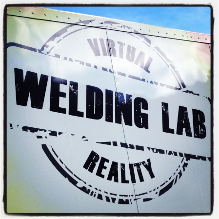 "Whether in the ""real"" world or the virtual world... welding is cool."