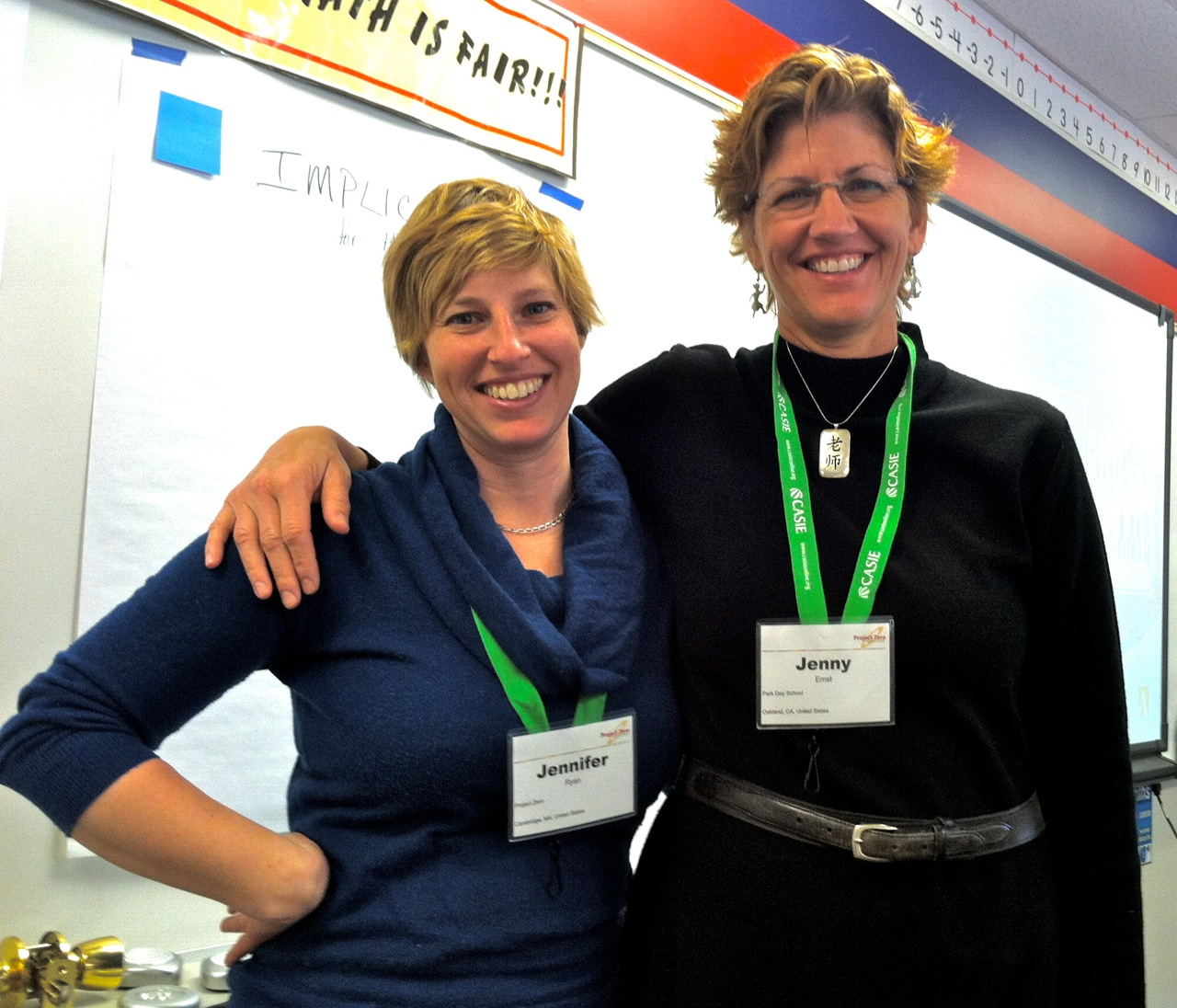 AbD Project Manager Jen Ryan And Park Day School Teacher OLC Member Jenny Ernst Co