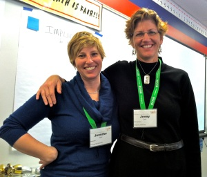 AbD project manager Jen Ryan and Park Day School teacher and OLC member Jenny Ernst co-facilitated a sensitivity to design workshop session together at the recent Project Zero Perspectives conference in Memphis, TN.