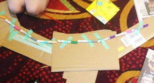 Participants at the AEP conference employed arts materials structurally.
